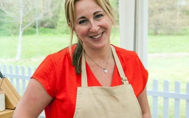 Stacey Hart, 42, from Hertfordshire is still in the race to become the queen of cakes