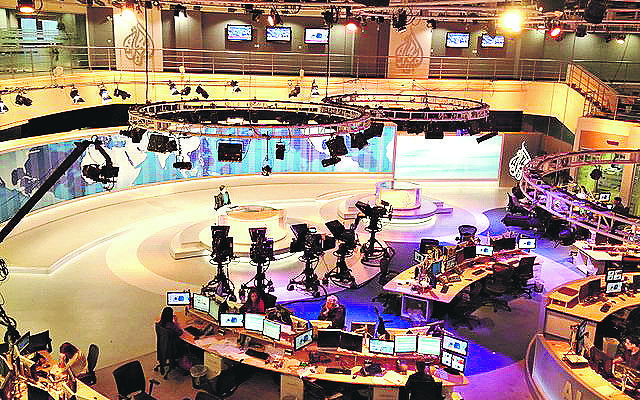 Al Jazeera English's news desk