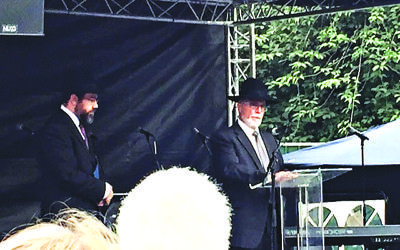 Rabbis Moshe Freedman and Abraham Lavi
