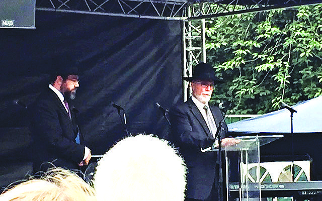 Rabbis Moshe Freedman and Abraham Lavi