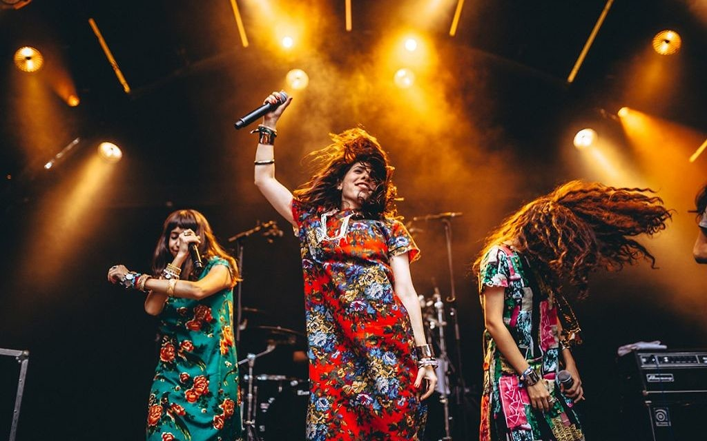 Yemenite bank A-WA were just one of many top Israeli acts that performed at TLV in LDN in the capital