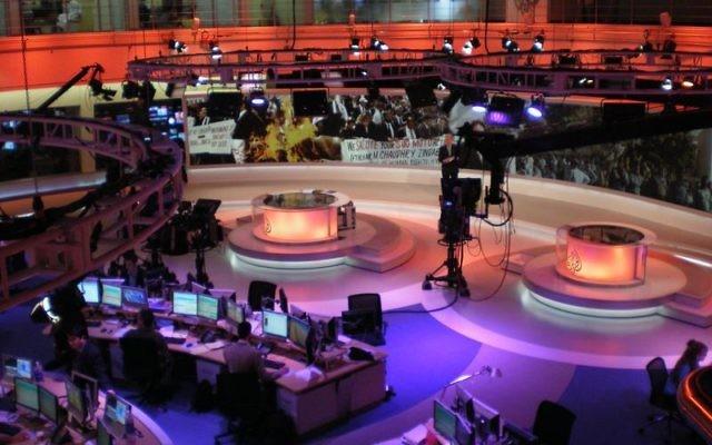 Newsroom of Al Jazeera English, Doha