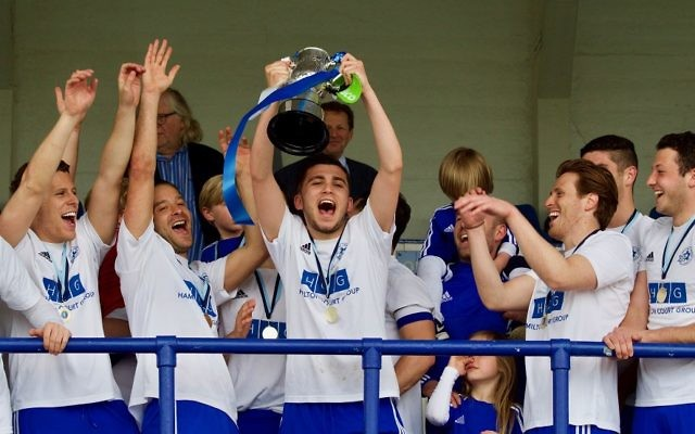 Last season's Cyril Anekstein Cup winners - Maccabi London Lions A