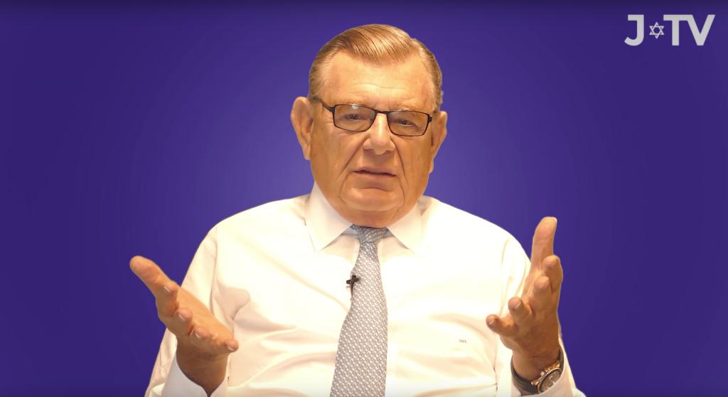 Gerald Ronson speaking on J-TV