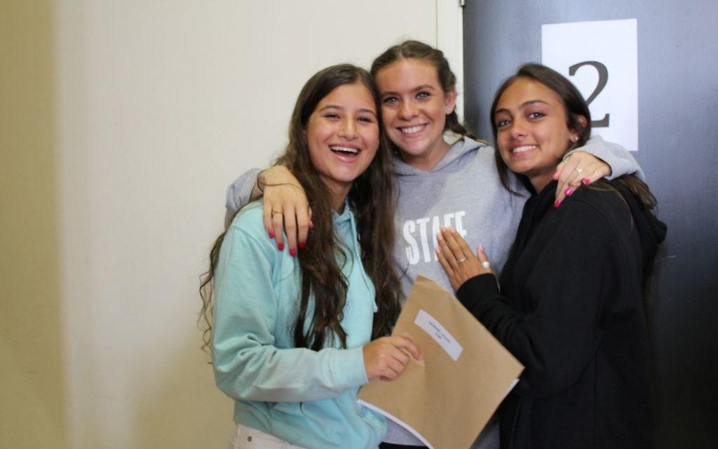 JCoSS students celebrate results