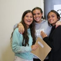 JCoSS students celebrate results