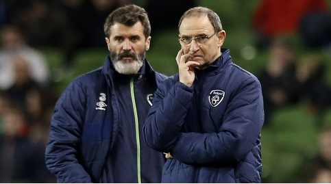 Roy Keane and Martin O'Neill are contracted to Ireland until the end of the 2018 World Cup qualifying campaign