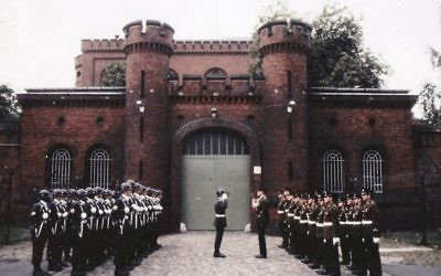 Changing the guard at Spandau Prison