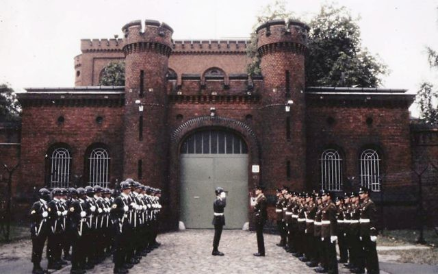 Changing the guard at Spandau Prison