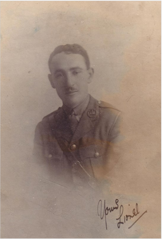 Lionel Ernest Schloss - source The Nottingham High School Collection, courtesy of the family
