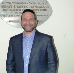 Rabbi Elchonon Feldman Picture credit: Bushey United Synagogue