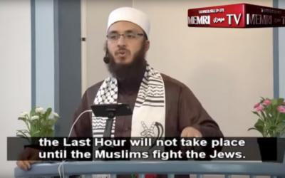 Imam Ammar Shahin's controversial sermon