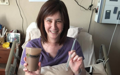 Emily Pomeranz's dying wish was for a very specific milkshake. (Facebook)