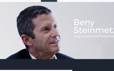 Screenshot from  Beny Steinmetz's website
