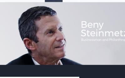 Screenshot from  Beny Steinmetz's website