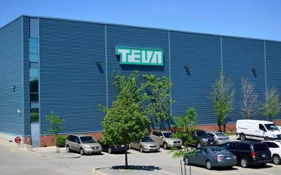Teva facility in Ontario Canada