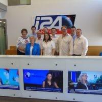 Visiting i24 news