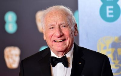 Veteran Hollywood comedian Mel Brooks  Photo credit: Dominic Lipinski/PA Wire