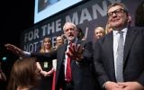 Labour leader Jeremy Corbyn and his shadow cabinet pose for a photograph at the Labour Party annual conference at the Brighton Centre,    Photo credit: Stefan Rousseau/PA Wire