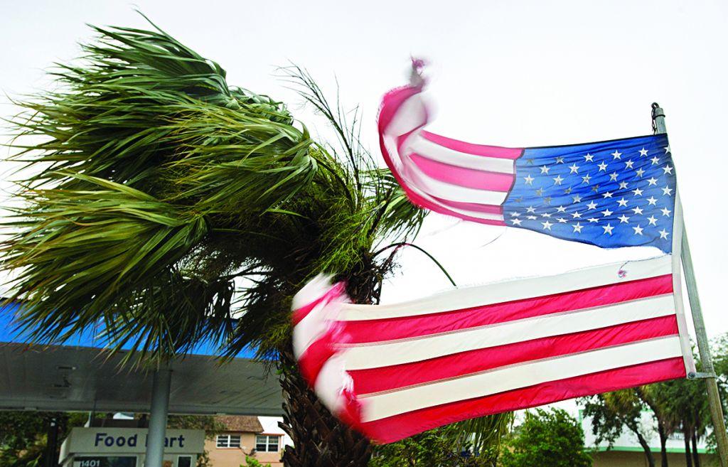 Hurricane Irma is now battering America's Florida coastline