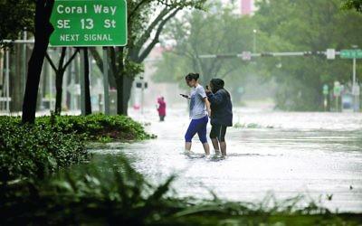 Hurricane Irma is battering America's Florida coastline, causing untold devastation