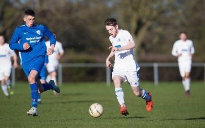 Adam Burchell scored twice for Lions