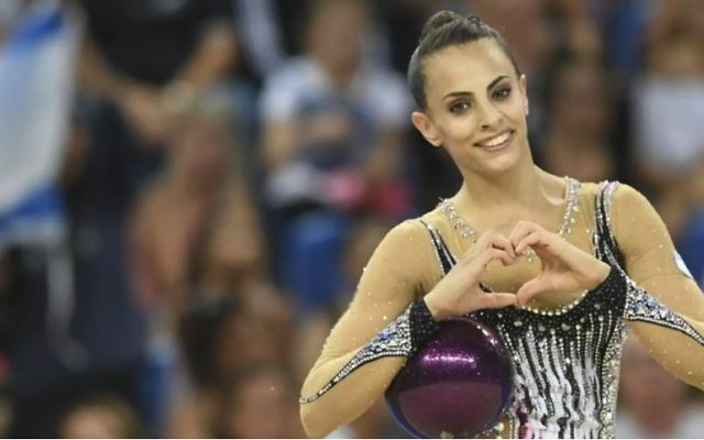 Linoy Ashram became the first Israeli gymnast to win a medal in the all-round competition at the World Championships