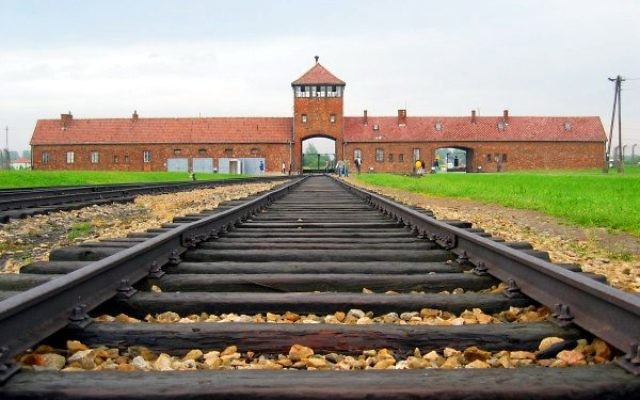 The Nazis' notorious Auschwitz camp, located in Poland