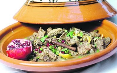 Beef and Pomegranate