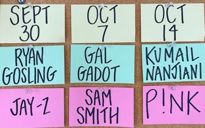 Gal Gadot will host Saturday Night Live on Oct 7