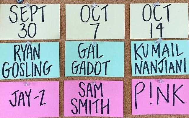 Gal Gadot will host Saturday Night Live on Oct 7