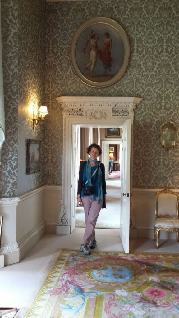 Zuzana in the Duchesse d'Angouleme's boudoir