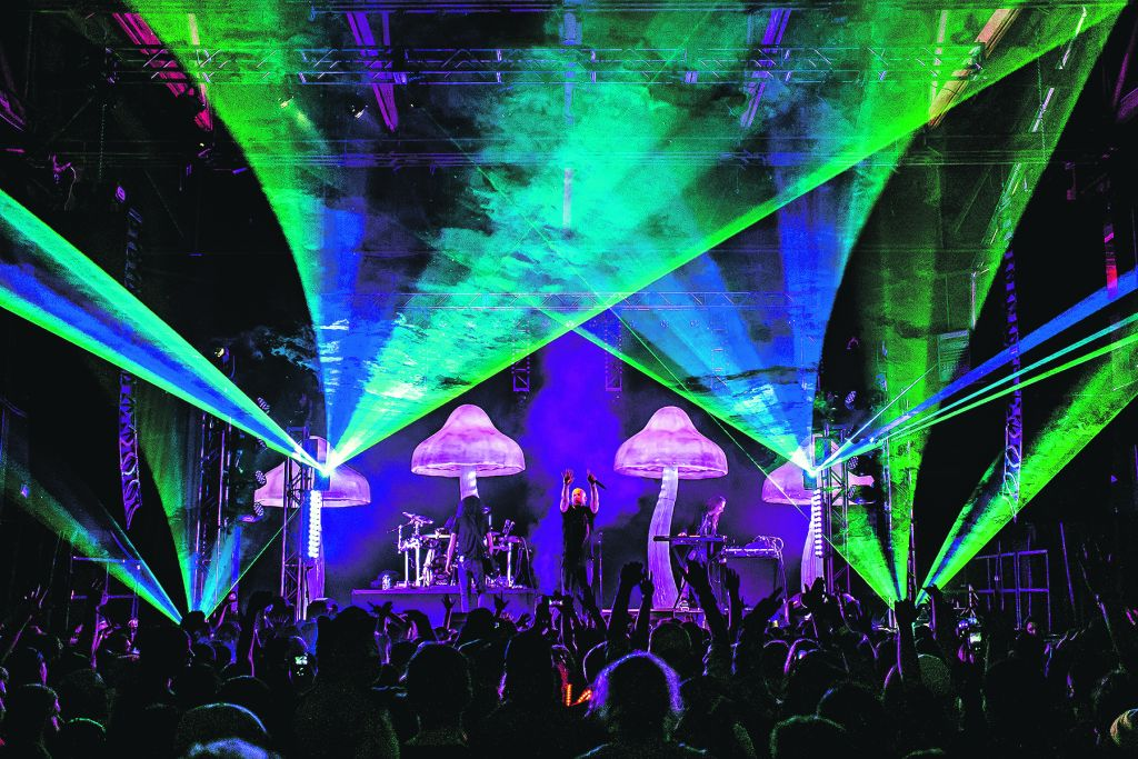 Psyche-trance band Infected Mushroom will perform