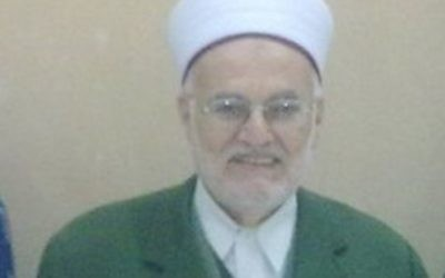 Former Grand Mufti of Jerusalem Sheikh Ekrima Sabri