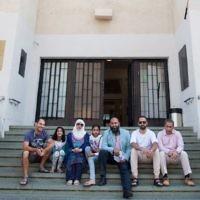The delegation in Tel Aviv
