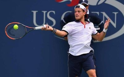 Diego Schwartzman suffered a quarter-final exit in the US Open on Tuesday