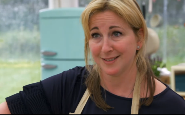 Stacey Hart on Bake Off episode 3