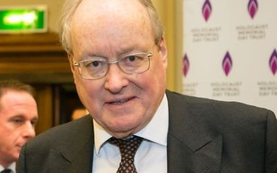 Sir Andrew Burns  Credit: Holocaust Memorial Day Trust