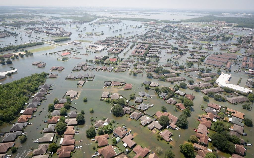 Flooding in Texas on August 31