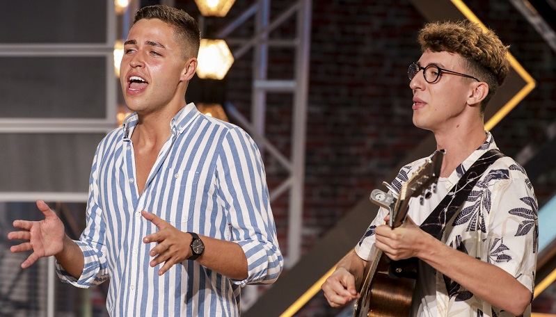 Jack and Joel - aka Joel Fishel and Jack Remington - wowed the judges at their first audition for The X Factor