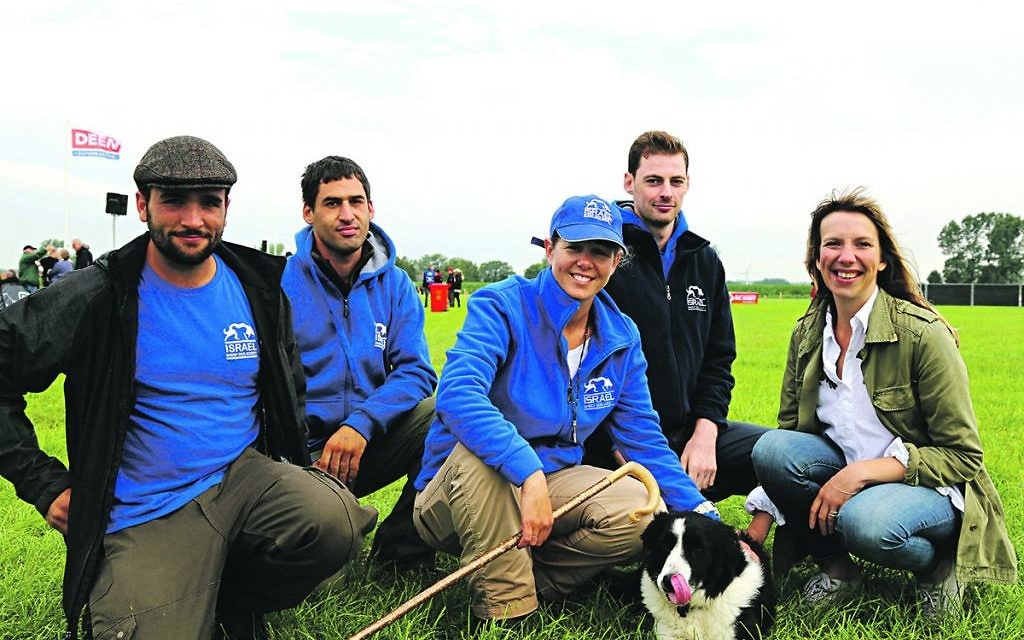 The Israeli team at the championships