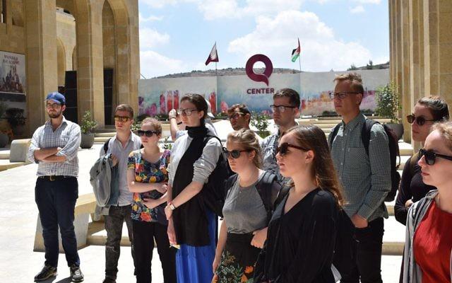 The Real Deal group visit Rawabi