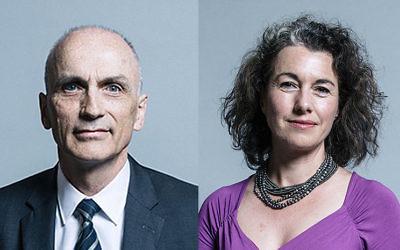 Christopher Williamson and Sarah Champion