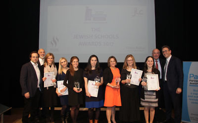 Last years winners of the Jewish News-PaJes Schools Awards!