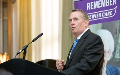 Dr Liam Fox   Photo credit: Justin Grainge