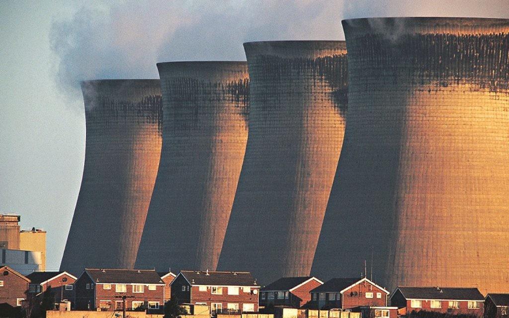 Coal fired power station, Ferrybridge, UK