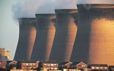 Coal fired power station, Ferrybridge, UK