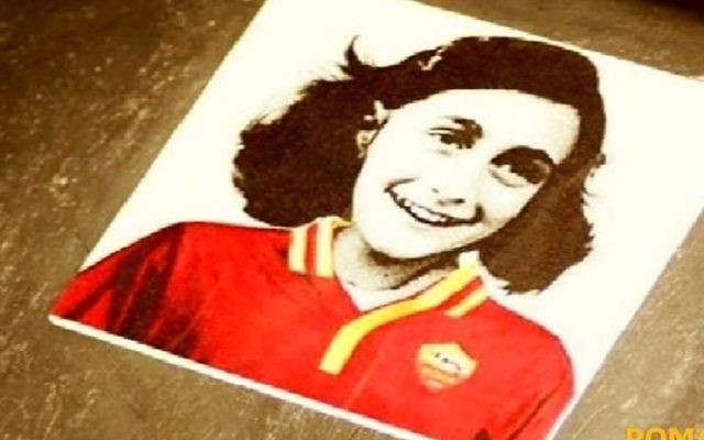 In October 2017,  Lazio fans posted pictures of Anne Frank pictured in the shirt of their club rivals, Roma