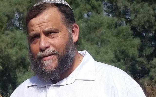 Bentzi Gopstein, leader of Lehava