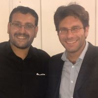 Mustafa Field (left)  and Rabbi Natan Levy (right), of the Faiths Forum for London.